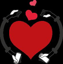 footer heart
