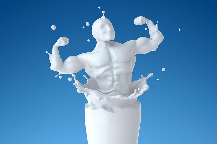 Developing a healthy habit of Milk
